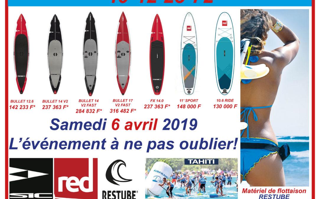 Art2Vie participe au AirFrance paddle Festival 2019 – Samedi 6 avril !