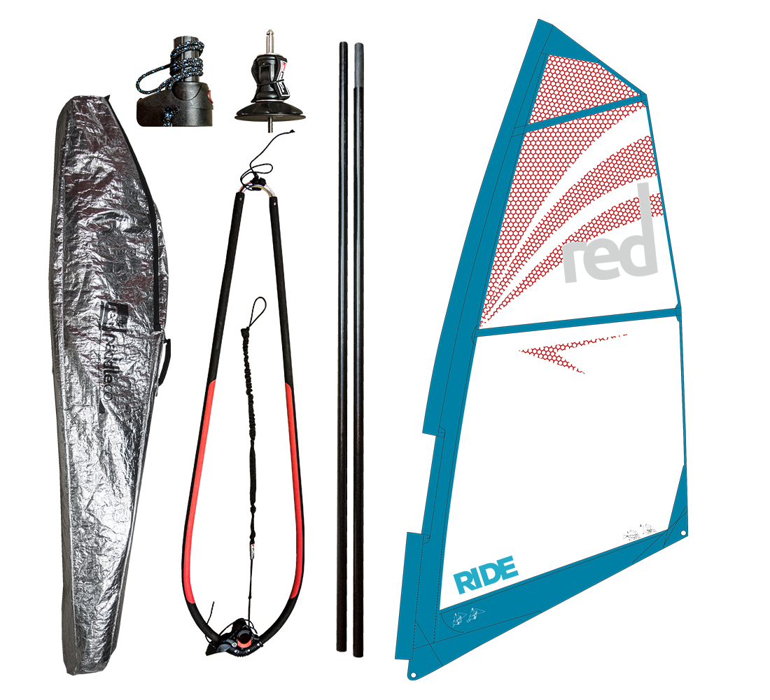 Red Paddle Voile Greement Pour Sup Gonflable 10 7 Ride Windsurf 2017 Art2vie